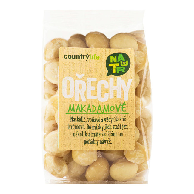Zobrazit detail výrobku Country Life Makadamové ořechy 80g
