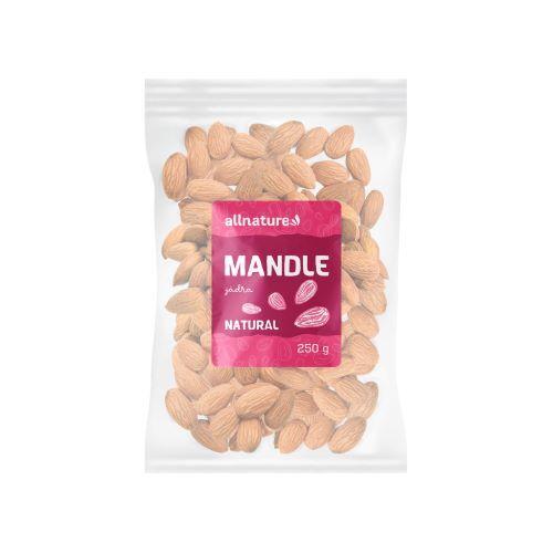Zobrazit detail výrobku Allnature Mandle jádra 250 g