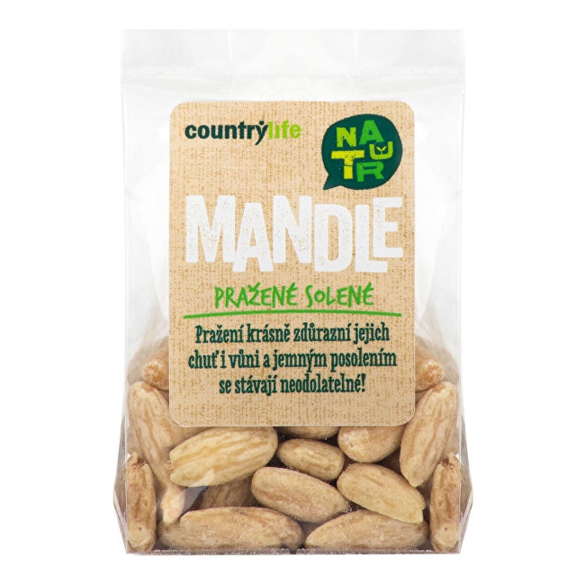 Zobrazit detail výrobku Country Life Mandle pražené solené 80g