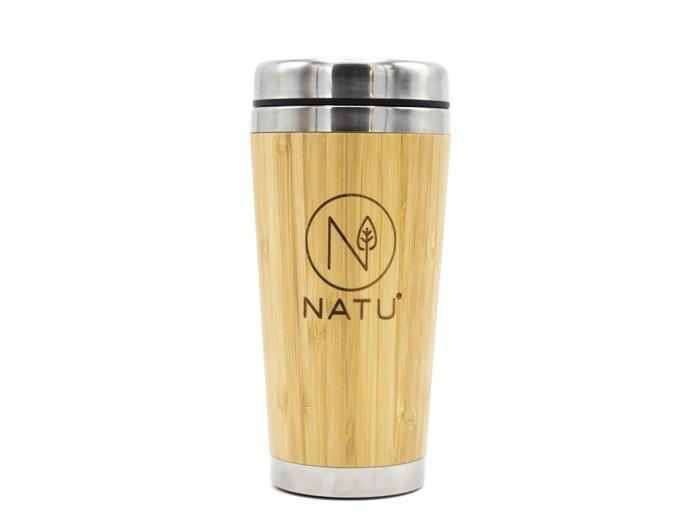 Natu Bambusový termohrnček 450 ml