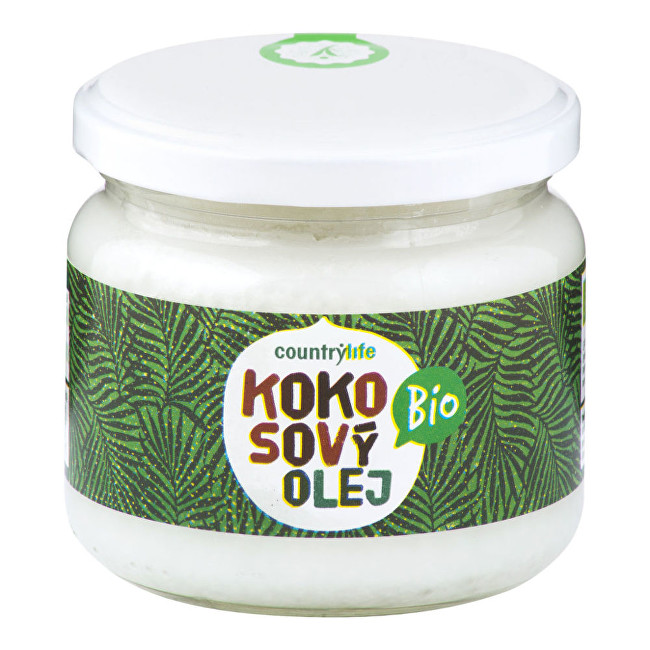 Zobrazit detail výrobku Country Life Olej kokosový BIO 300ml