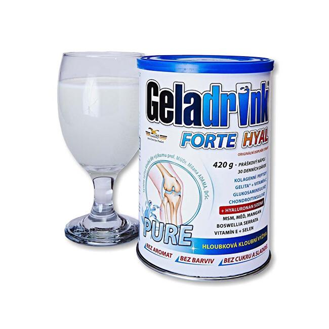 Geladrink Geladrink Forte HYAL 420 g PURE