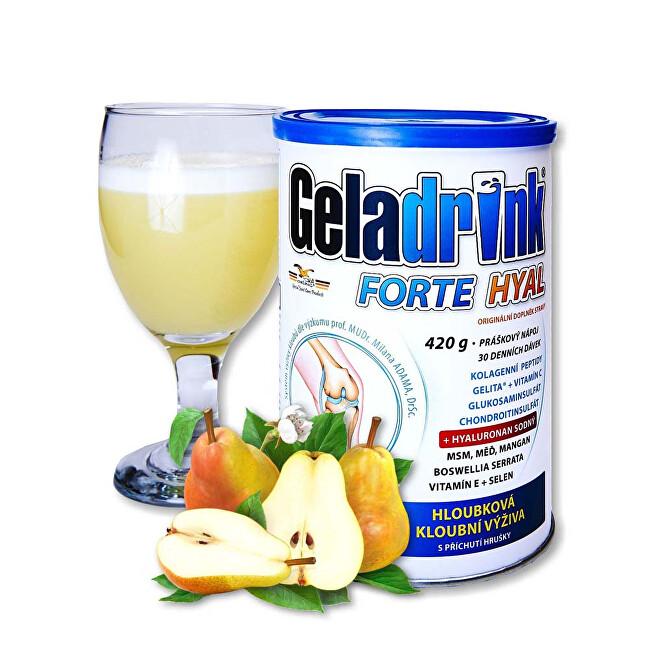 Geladrink Geladrink Forte HYAL 420 g Hruška