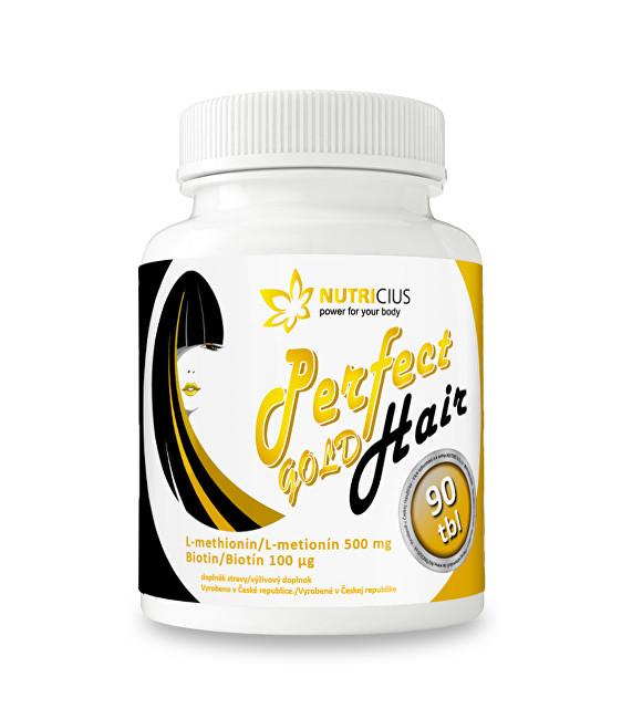 Zobrazit detail výrobku Nutricius Perfect HAIR gold 90 tbl.
