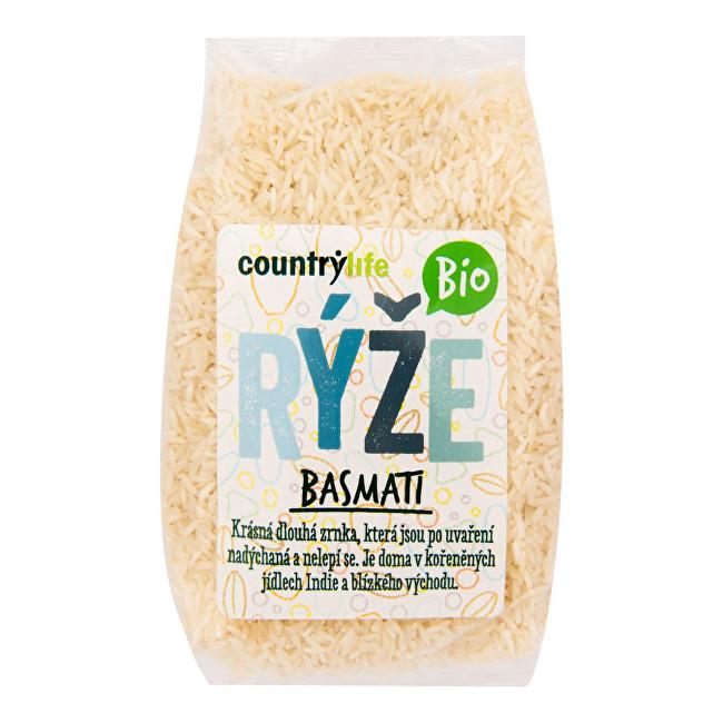 Zobrazit detail výrobku Country Life Rýže basmati BIO 0,5 kg