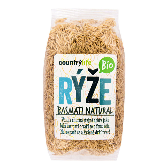 Country Life Rýže basmati natural BIO 0,5 kg