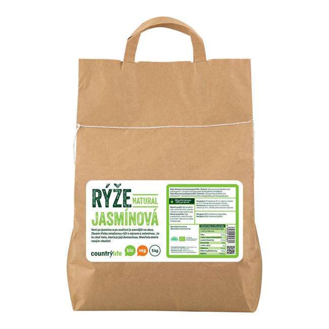 Zobrazit detail výrobku Country Life Rýže jasmínová natural BIO 5 kg
