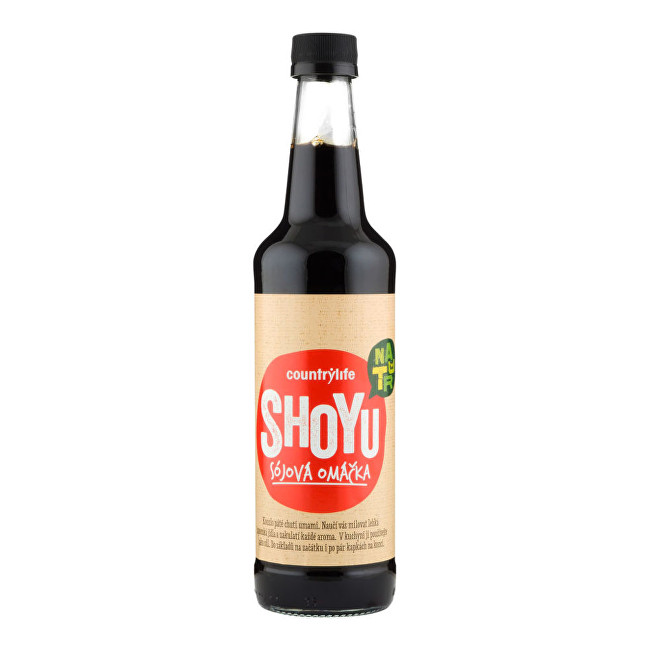 Zobrazit detail výrobku Country Life Shoyu sójová omáčka 500 ml
