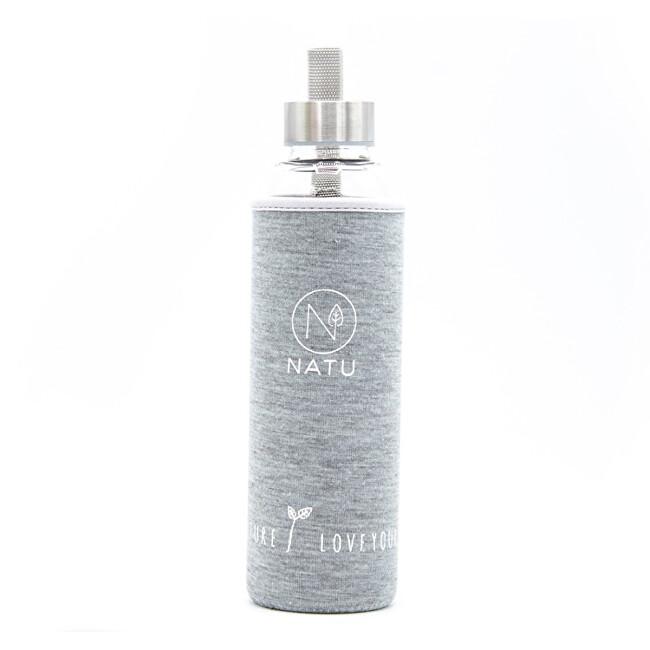 Zobrazit detail výrobku Natu Skleněná láhev v šedém termo obalu 550 ml