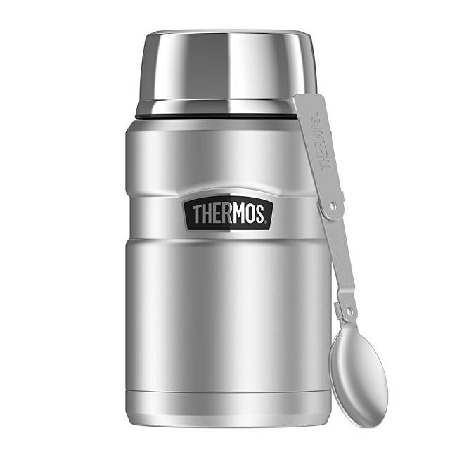 Zobrazit detail výrobku Thermos Style Termoska na jídlo se skládací lžící a šálkem - nerez 710 ml