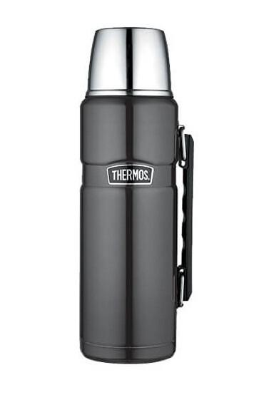 Zobrazit detail výrobku Thermos Style Termoska na nápoje s madlem - metalicky šedá 1,2 l