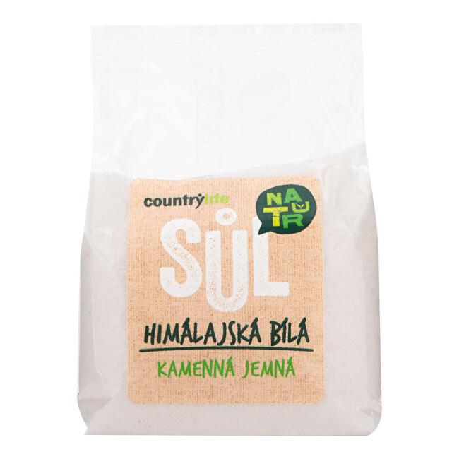 Zobrazit detail výrobku Country Life Sůl himálajská bílá jemná 500g