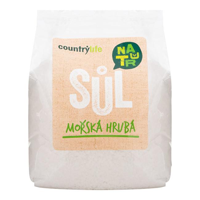 Zobrazit detail výrobku Country Life Sůl mořská hrubá 1kg