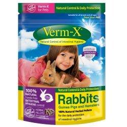 Zobrazit detail výrobku VERM-X VERM-X PŘÍRODNÍ NUGETKY PROTI STŘEVNÍM PARAZITŮM PRO HLODAVCE 180G