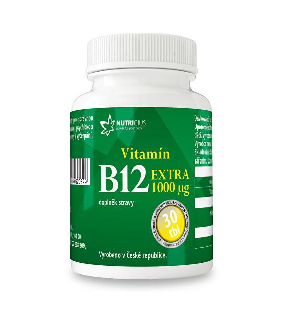 Zobrazit detail výrobku Nutricius Vitamín B12 EXTRA 30 tbl.