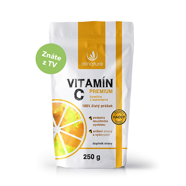 Zobrazit detail výrobku Allnature Vitamín C Premium prášek 250 g