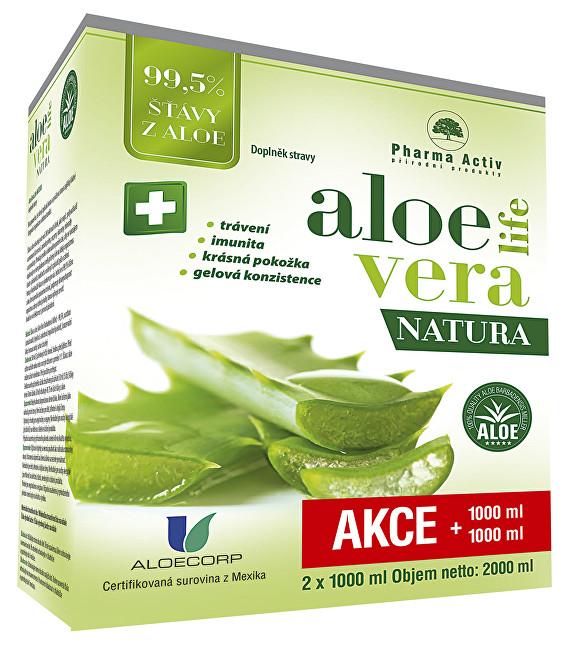 Zobrazit detail výrobku Pharma Activ Aloeveralife natura 1000 ml + 1000 ml