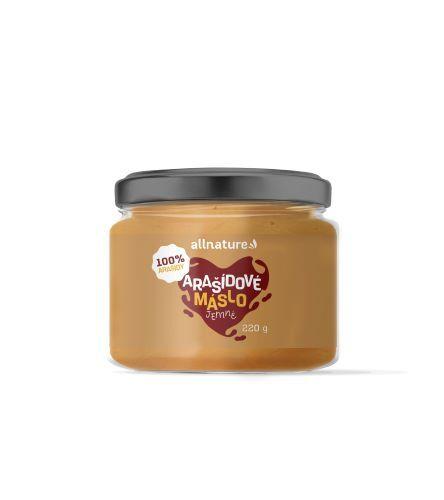 Zobrazit detail výrobku Allnature Arašídové máslo jemné 220 g