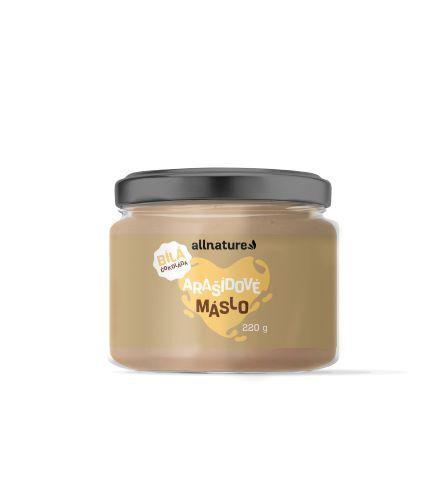 Zobrazit detail výrobku Allnature Arašídové máslo s bílou čokoládou 220 g