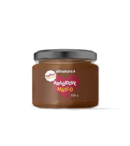 Arašídové máslo s hořkou čokoládou 220 g