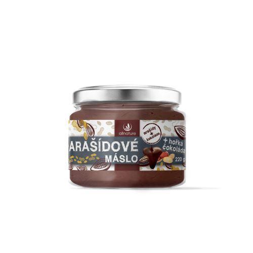 Zobrazit detail výrobku Allnature Arašídové máslo s hořkou čokoládou 220 g