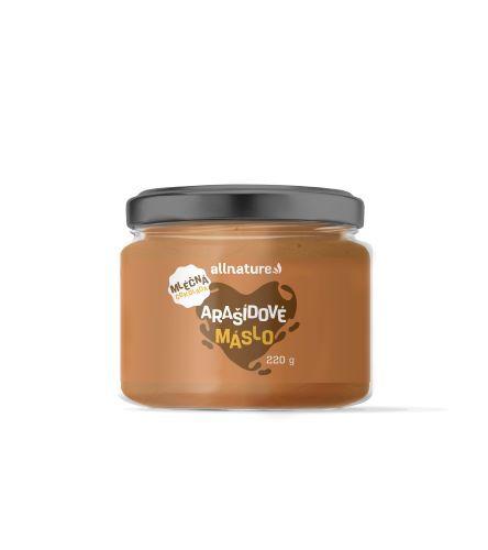 Zobrazit detail výrobku Allnature Arašídové máslo s mléčnou čokoládou 220 g
