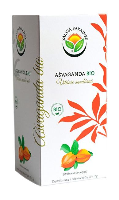 Zobrazit detail výrobku Salvia Paradise Ašvaganda - vitánie n. s. BIO 20 x 2 g