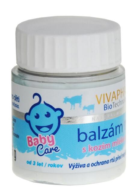 Zobrazit detail výrobku Vivapharm Balzám na rty s kozím mlékem KIDS 25 g