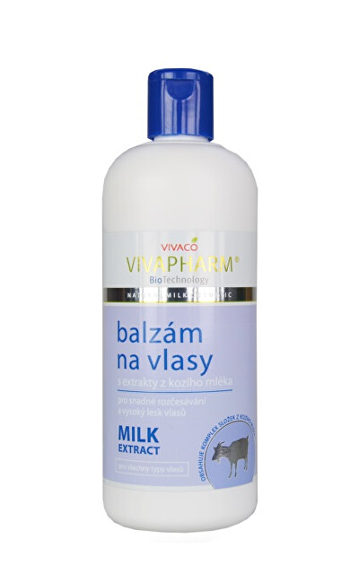 Zobrazit detail výrobku Vivapharm Balzám na vlasy s extrakty z kozího mléka 400 ml