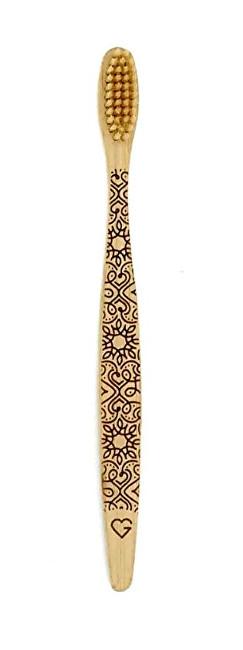 Bambusový zubní kartáček extra soft