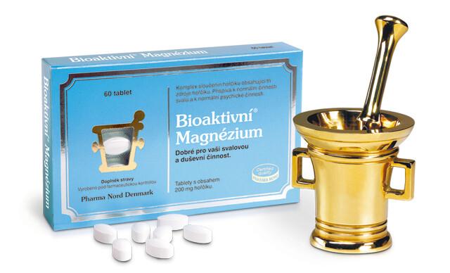 Zobrazit detail výrobku Pharma Nord Bioaktivní Magnézium 60 tablet