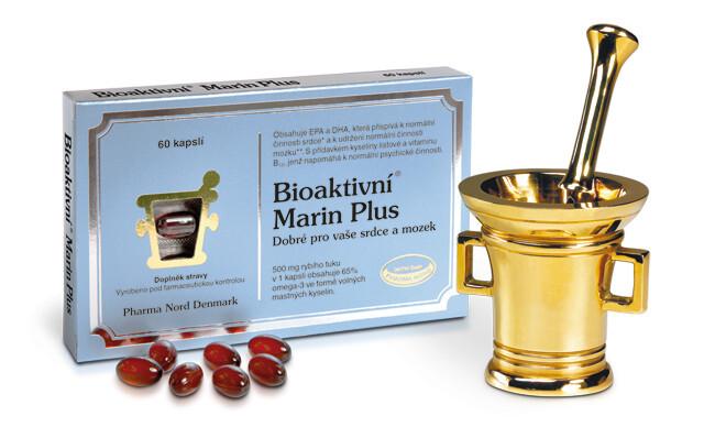 Zobrazit detail výrobku Pharma Nord Bioaktivní Marin Plus 60 tobolek