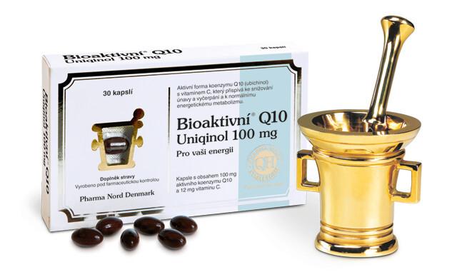 Zobrazit detail výrobku Pharma Nord Bioaktivní Q10 Uniqinol 100 mg 30 pastilek