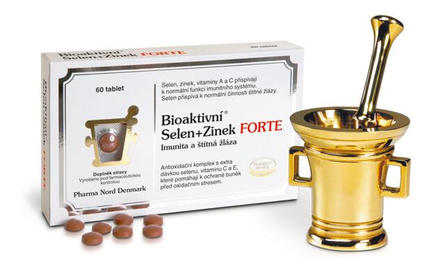 Zobrazit detail výrobku Pharma Nord Bioaktivní Selen+Zinek FORTE 60 tablet