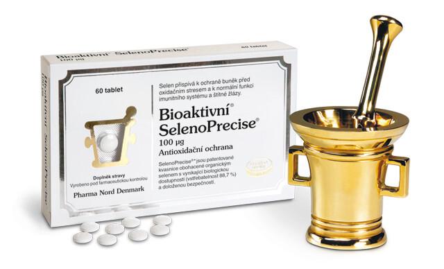 Bioaktivní SelenoPrecise 100 mcg 60 tablet