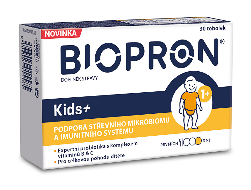 Zobrazit detail výrobku Biopron Biopron Kids+ 30 cps