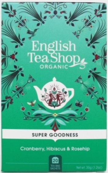 Zobrazit detail výrobku English Tea Shop Brusinka, ibišek a šípek BIO 20 sáčků