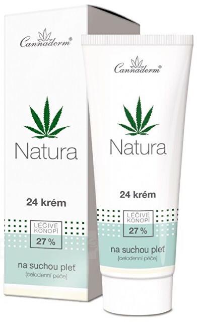 Zobrazit detail výrobku Cannaderm Cannaderm Natura 24 krém na suchou pleť 75g - SLEVA - poškozená krabička