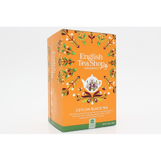 Zobrazit detail výrobku English Tea Shop Cejlonský černý čaj 20 sáčků