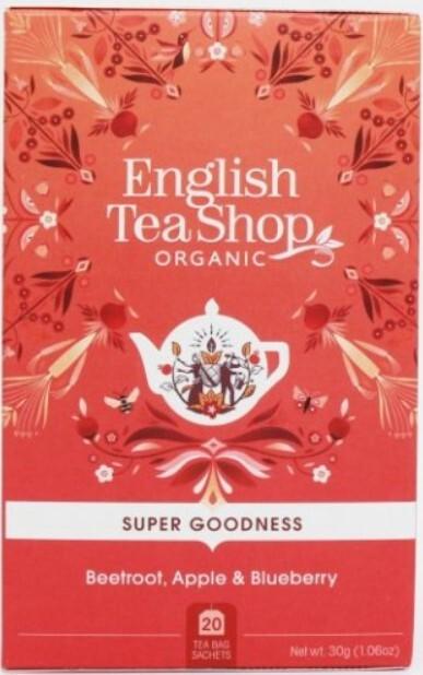 English Tea Shop Červená řepa, jablko a borůvka Veggie čaj 20 sáčků