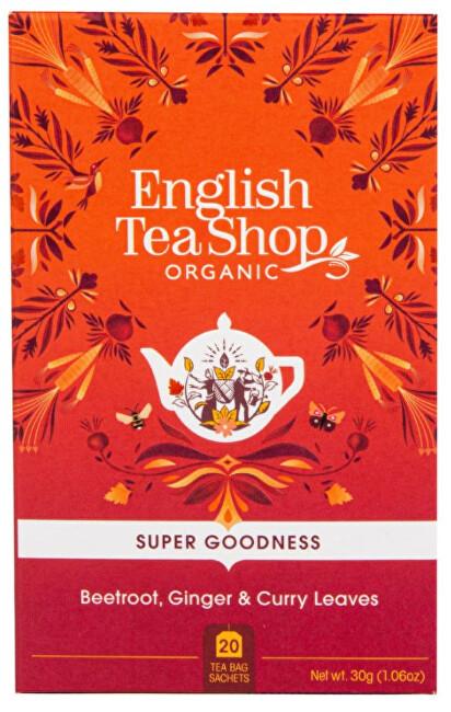 Zobrazit detail výrobku English Tea Shop Červená řepa, zázvor a kari Veggie čaj 20 sáčků