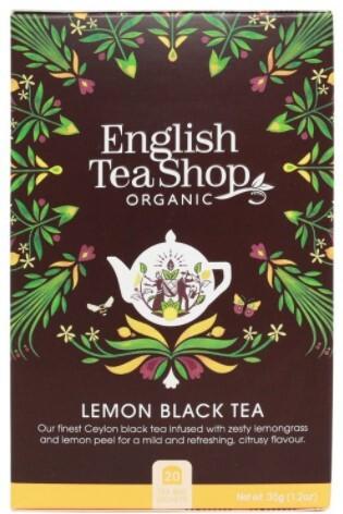 Zobrazit detail výrobku English Tea Shop Černý čaj s citrónem 20 sáčků