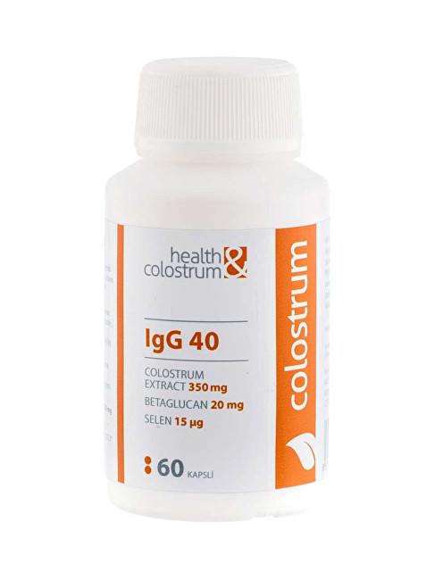 Colostrum IgG 40 (350 mg) + betaglukan + selen 60 kapslí