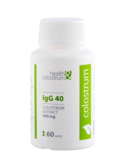 Colostrum IgG 40 (400 mg) 60 kapslí