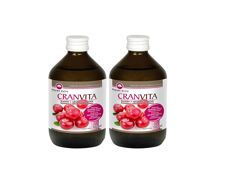 Zobrazit detail výrobku Pharma Activ Cranvita 500 ml 1+1