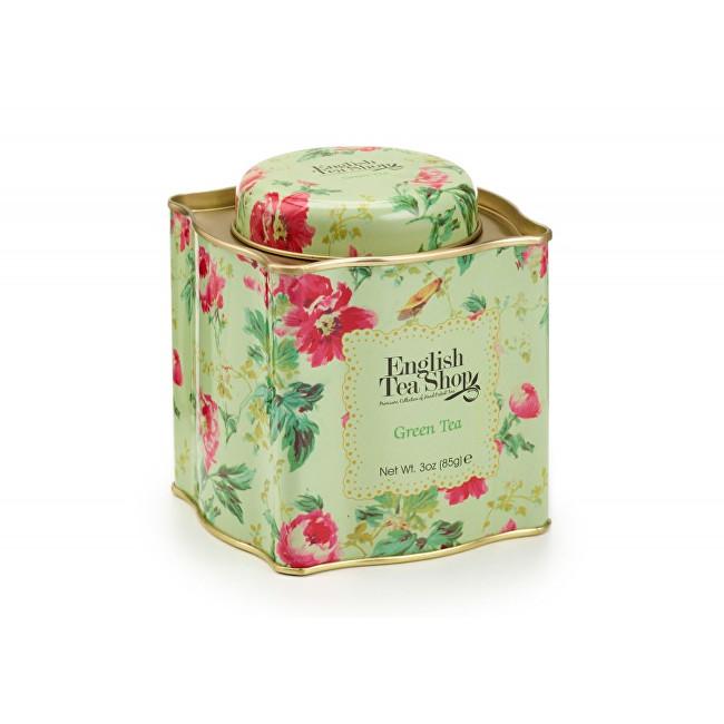 Zobrazit detail výrobku English Tea Shop Dárková plechovka sypaný čaj Zelený BIO 85 g