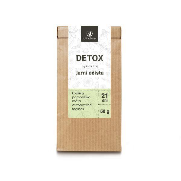 Zobrazit detail výrobku Allnature Detox Bylinný čaj 50 g