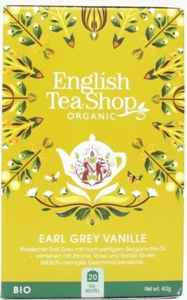 Zobrazit detail výrobku English Tea Shop Vanilka a Earl Grey 20 sáčků
