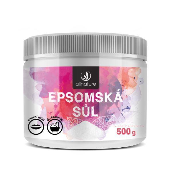Zobrazit detail výrobku Allnature Epsomská sůl 500g