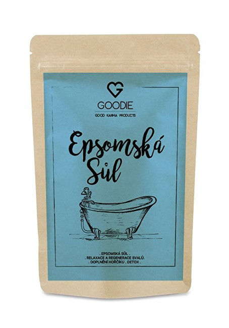 Zobrazit detail výrobku Goodie Epsomská sůl 500 g